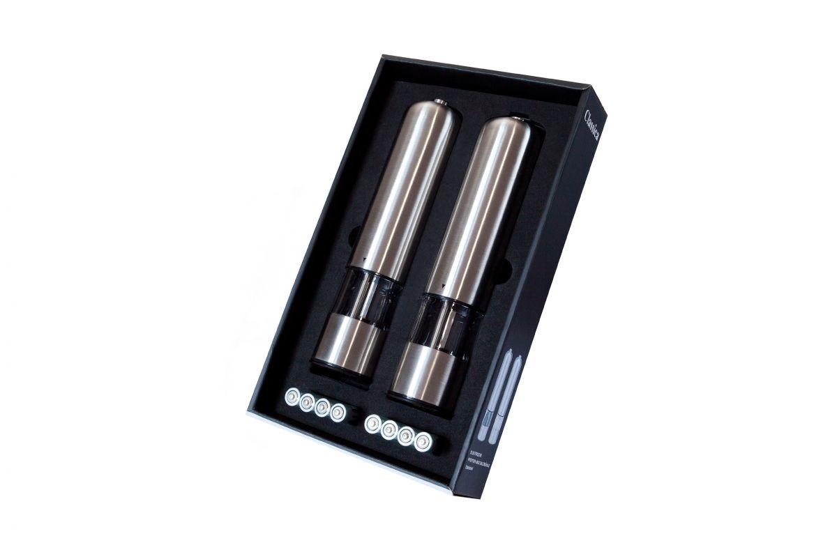 mlýnek na sůl a pepř koření sada 2 ks elektrický Classica