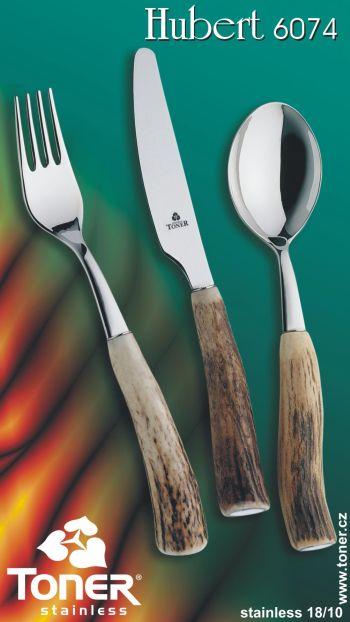 lžíce Toner Hubert jídelní pravé paroží 1 ks