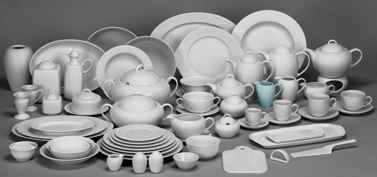Henriette cibulák jídelní souprava Saphyr Thun 6 osob 25 dílů cibulákový porcelán Nová Role