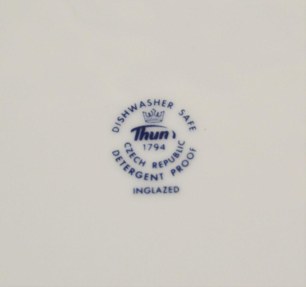 cibulák talířová souprava henrieta Saphyr Thun 6 osob 18 dílů cibulákový porcelán Nová Role