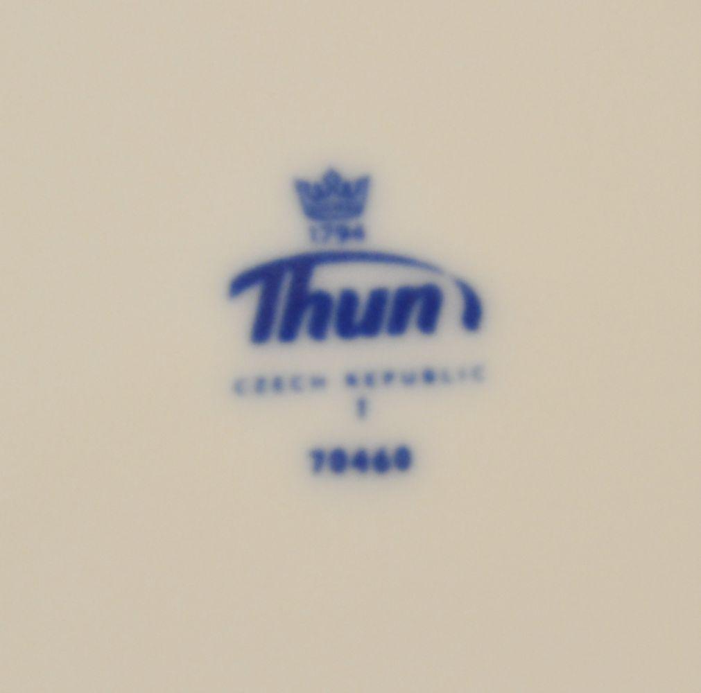 cibulák šálek a podšálek 135 ml Natalie Thun 23 cm 1 ks šálek + 1 ks podšálek cibulákový porcelán Nová Role