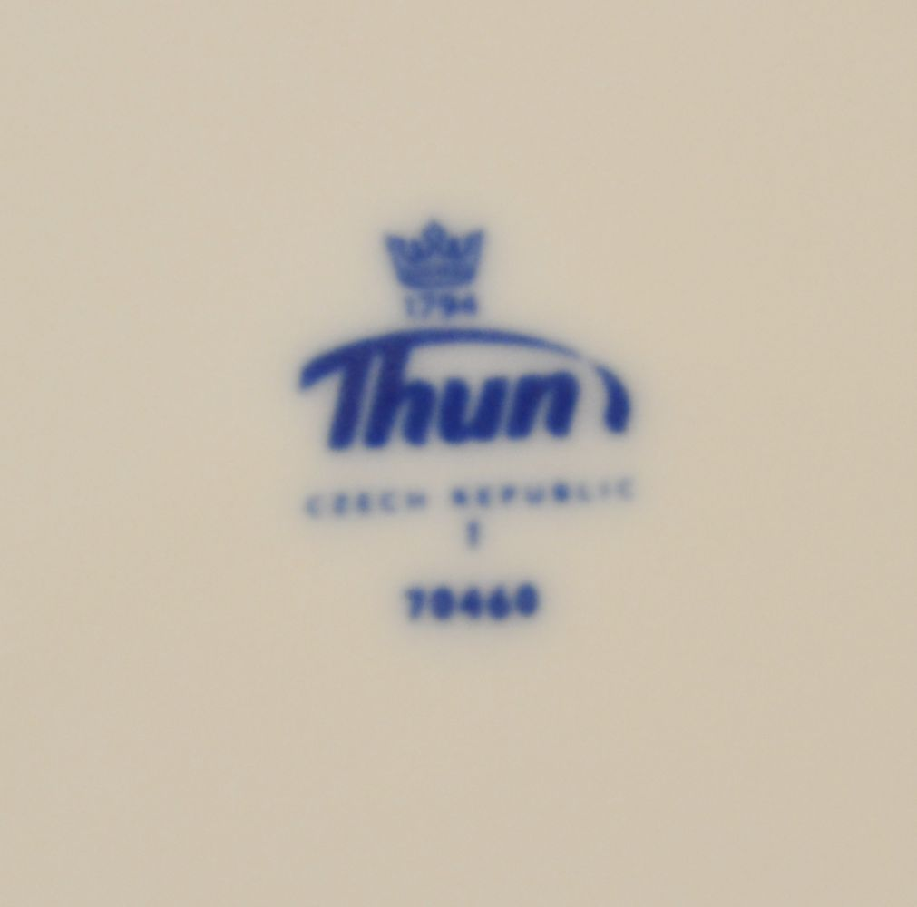 cibulák polévková mísa terina Natalie Thun 3,5 L 1 ks cibulákový porcelán Nová Role