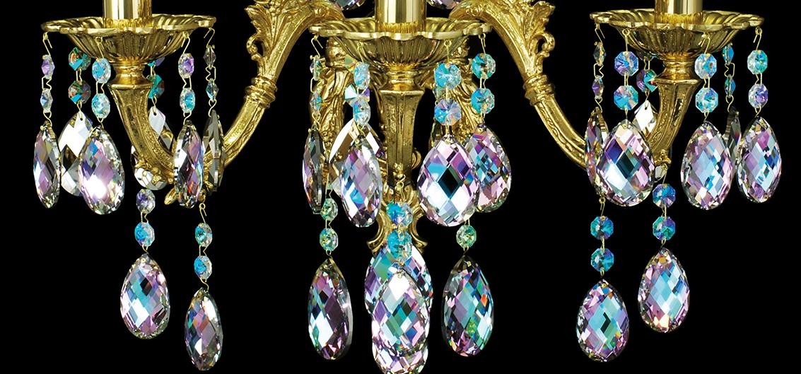 Křišťálový lustr Oxana N3