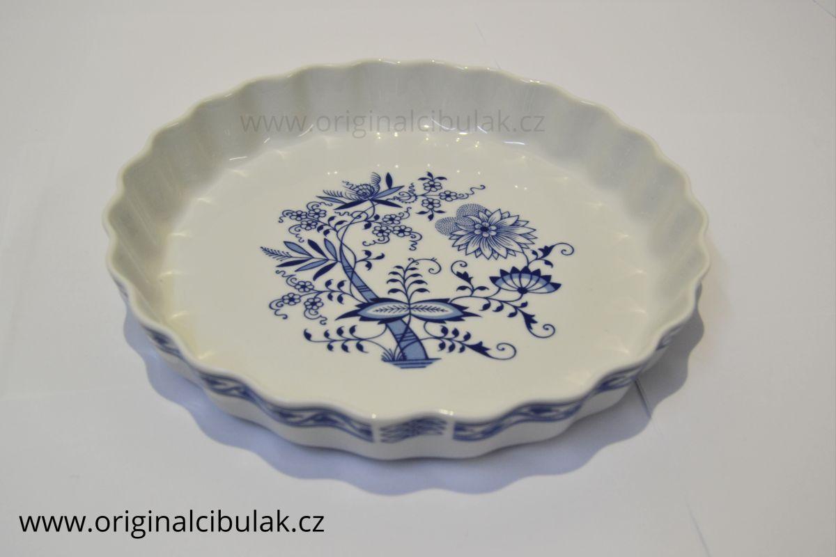 mísa zapékací 26 cm kulatá koláč cibulák Henriette henrieta Saphyr Thun 1 ks cibulákový porcelán Nová Role