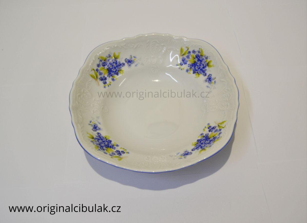 mísa kompotová Pomněnky 23 cm Bernadotte porcelán Thun český porcelán Nová Role