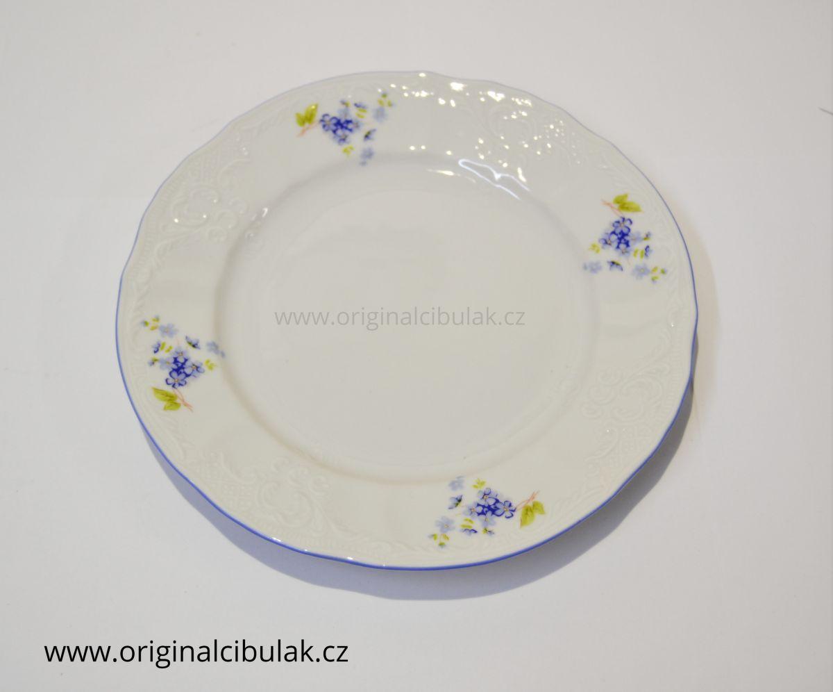 Talířová souprava Pomněnky Bernadotte 6 osob 18 kusů porcelán Thun český porcelán Nová Role
