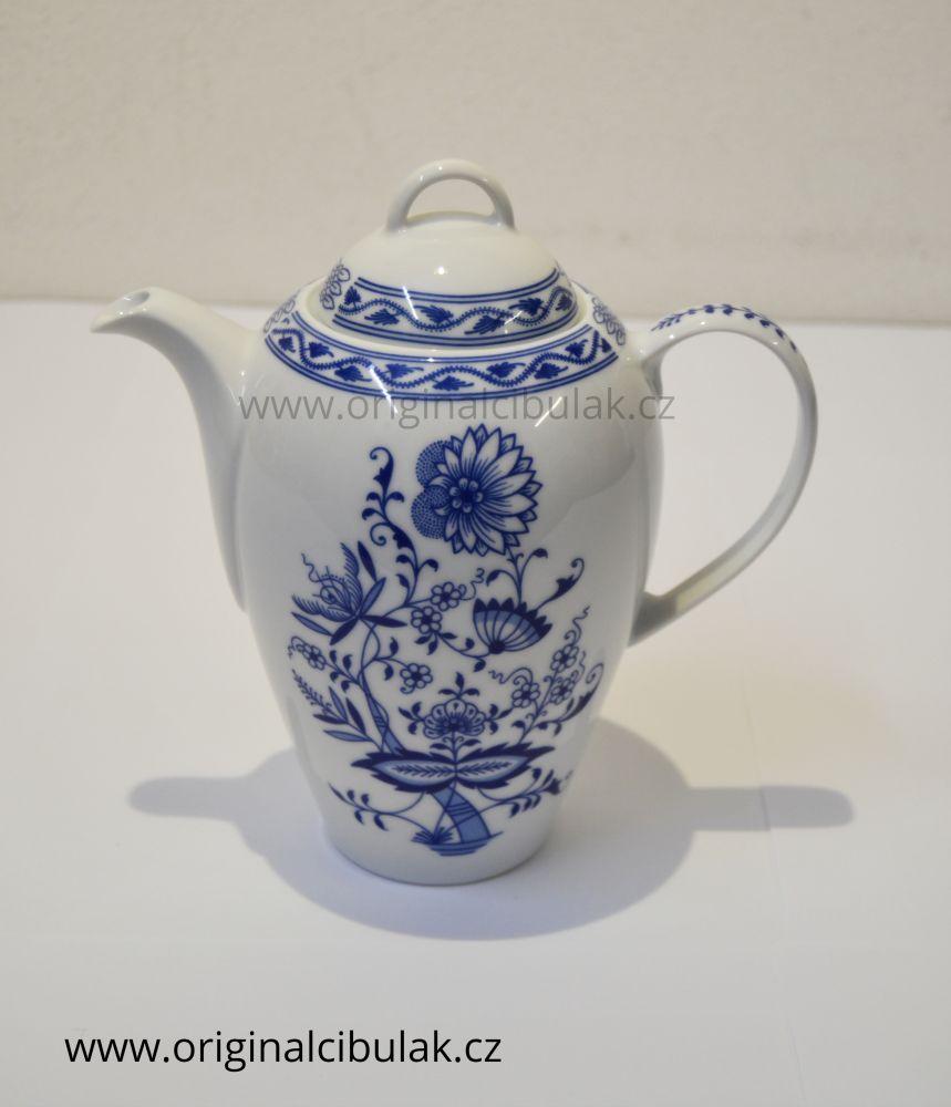 cibulák Henriette konvice kávová 0,9 L henrieta Saphyr Thun 1 ks cibulákový porcelán Nová Role