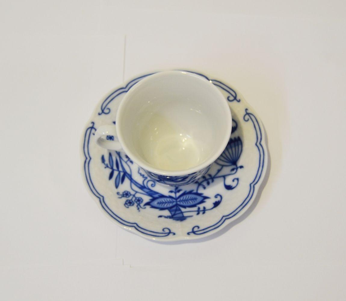 cibulák šálek a podšálek 120 ml Natalie Thun 2 ks porcelán Nová Role