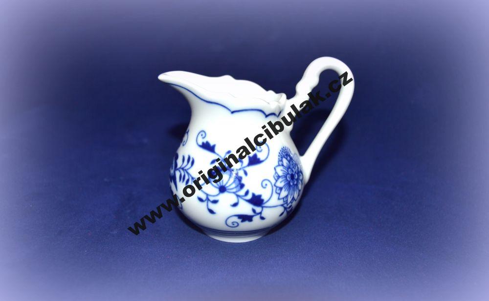 mlékovka cibulák 0,08 l český originální porcelán Dubí