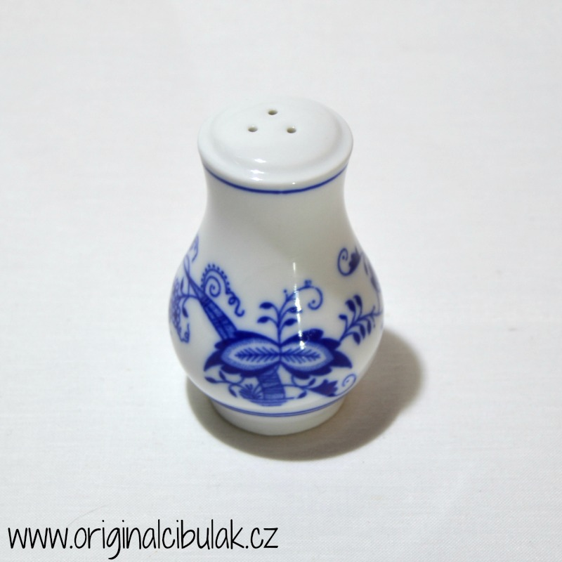pepřenka cibulák nápis Pepř 5 cm český porcelán Dubí