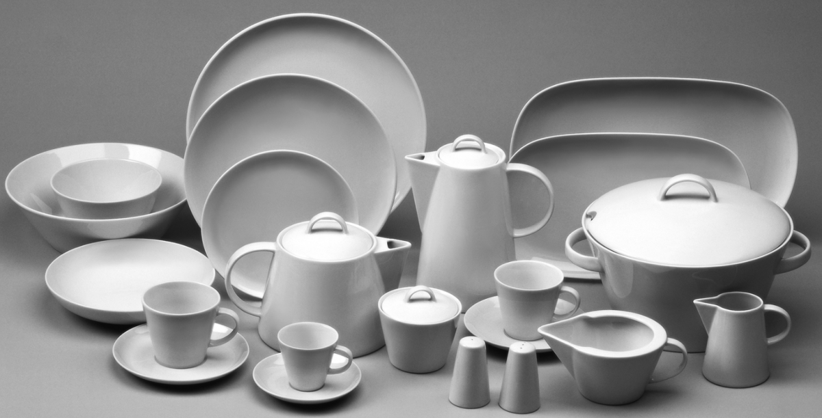 talíř Tom mělký 26 cm český porcelán Thun