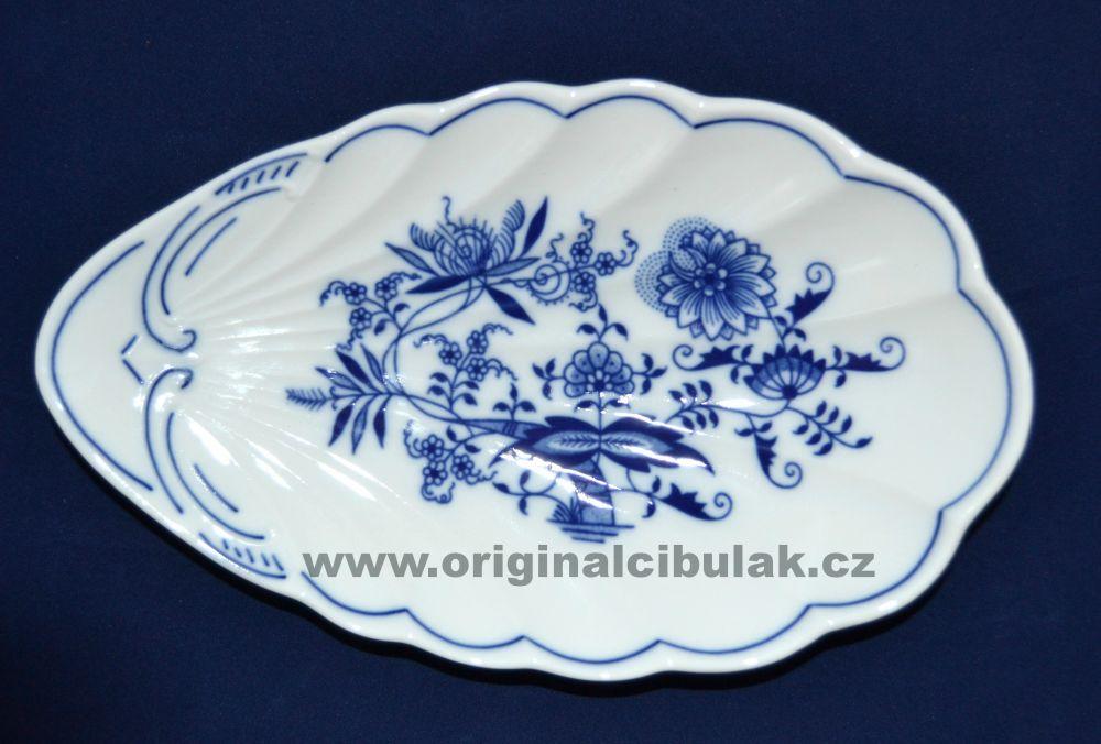 miska cibulák mušle 23 cm originální český porcelán Dubí