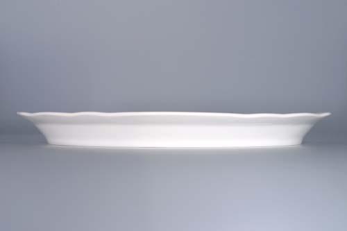 talíř cibulák oválný 34 cm originální český porcelán Dubí