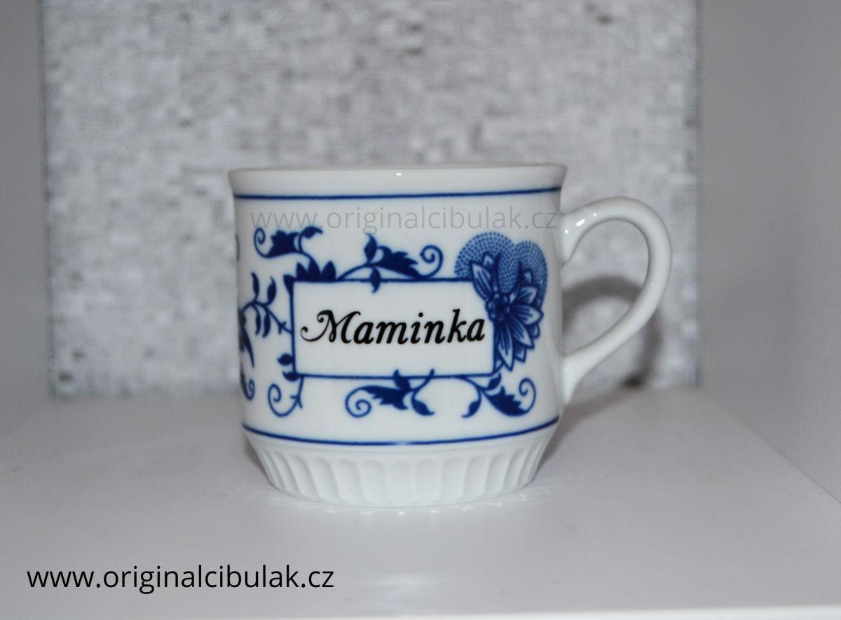 hrnek cibulák Leo s nápisem Tatínek 0,30 l český porcelán Dubí