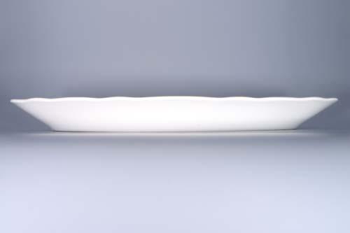 cibulák mísa oválná na ryby 57 cm originální český porcelán Dubí