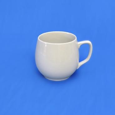 Hrnek Baňák bílý Český porcelán Dubí