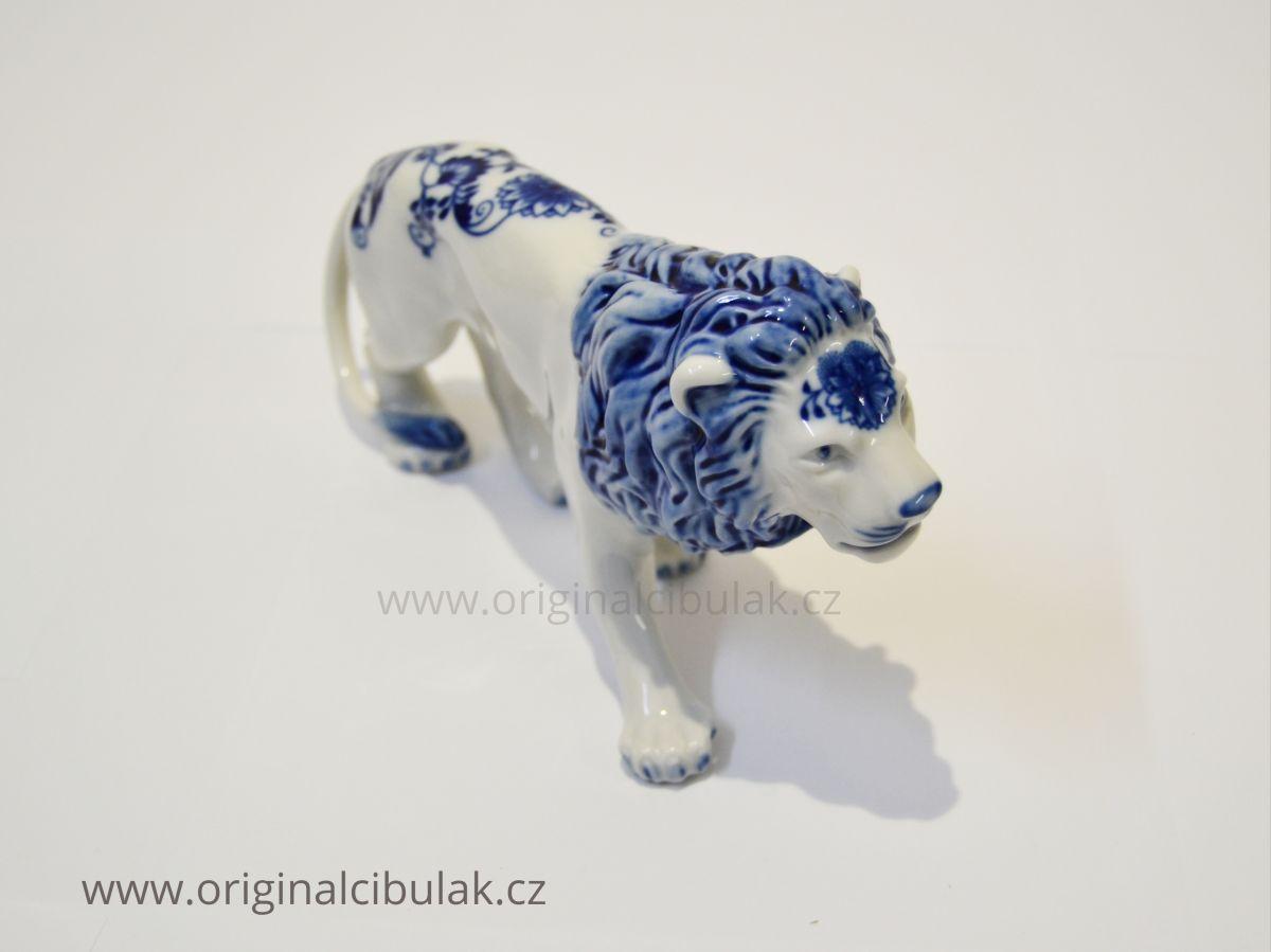 cibulák Lev 12cm originální český porcelán Dubí Dux