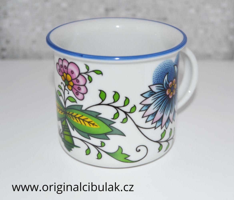 hrnek cibulák barevný Tina 0,10 l Nature český porcelán Dubí