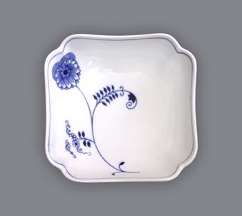 mísa salátová čtyřhranná vysoká 15 cm ECO cibulák český porcelán Dubí 2.jakost