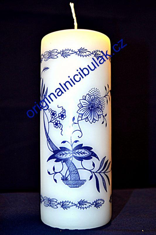 svíčka cibulák 6 ks Akce 5+1 Zdarma silná 6 cm