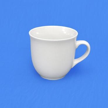 Hrnek bílý Mirek Český porcelán Dubí 2,jakost