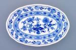 Cibulák mísa salátová oválná 23 cm originální cibulákový porcelán Dubí, cibulový vzor,
