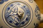Cibulák konvice čajová s víčkem 2 l originální cibulákový porcelán Dubí, cibulový vzor