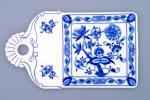 cibulák podnos na chléb 27 cm originální český porcelán Dubí 2.jakost