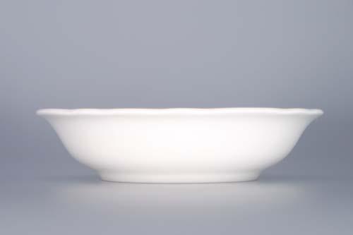Cibulák miska kompotová 13 cm originální cibulákový porcelán Dubí, cibulový vzor, 1.jakost