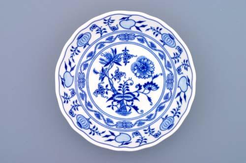 Cibulák mísa kompotová 16 cm , originální cibulákový porcelán Dubí, cibulový vzor, 1.jakost