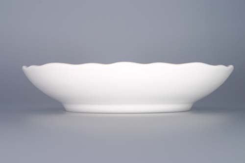 Cibulák mísa kompotová 20 cm originální cibulákový porcelán Dubí, cibulový vzor, 1.jakost