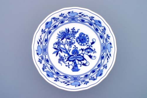 Cibulák mísa kompotová vysoká 23 cm originální cibulákový porcelán Dubí, cibulový vzor, 1.jakost