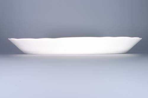 Cibulák mísa oválná 43 cm originální cibulákový porcelán Dubí, cibulový vzor, 1.jakost