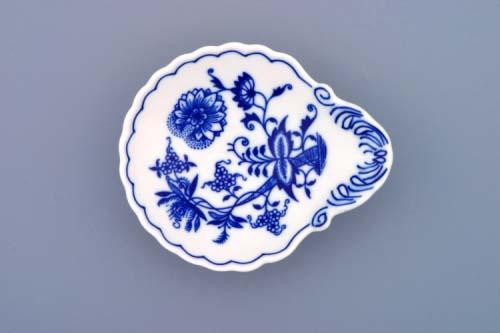 Cibulák miska na džem 12,5 cm originální cibulákový porcelán Dubí, cibulový vzor, 1.jakost