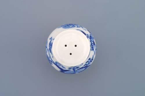 Cibulák pepřenka sypací bez nápisu 5 cm , originální cibulákový porcelán Dubí, cibulový vzor, 1.jakost