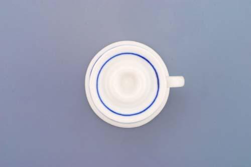 Cibulák svícen mini s ouškem 4,5 cm originální cibulákový porcelán Dubí, cibulový vzor, 1.jakost