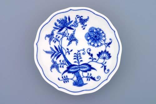 Cibulák podšálek zrcadlový ZB 14 cm originální cibulákový porcelán Dubí, cibulový vzor, 1.jakost