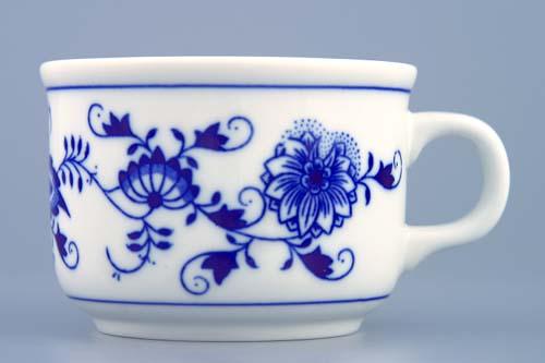 Cibulák Šálek Ben M 0,23 l originální cibulákový porcelán Dubí, cibulový vzor, 1.jakost