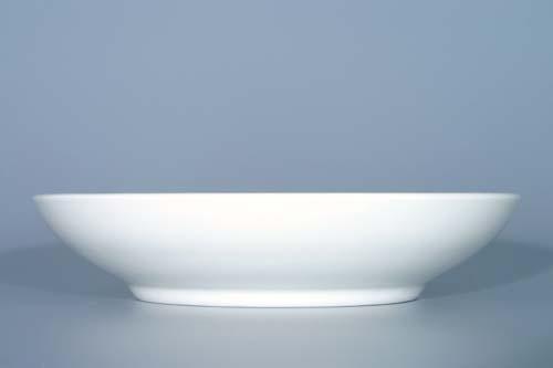 Cibulák mísa kompotová hladká 21 cm originální cibulákový porcelán Dubí, cibulový vzor, 1.jakost