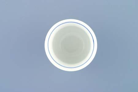 Cibulák Kalíšek Ali M 0,04 l originální cibulákový porcelán Dubí, cibulový vzor, 1.jakost