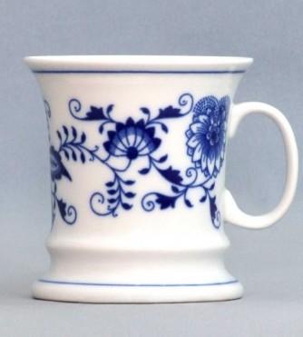 Cibulák Hrnek Emperor 0,24 l, originální cibulákový porcelán Dubí, cibulový vzor, 1.jakost