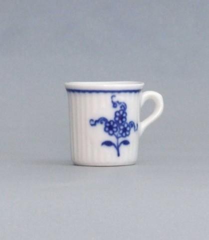 Cibulák Hrnek mini Mozart 0,009 l originální cibulákový porcelán Dubí, cibulový vzor, 1.jakost