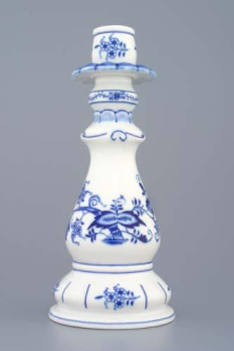 Cibulák Svícen 1982, 21,5 cm originální cibulákový porcelán Dubí, cibulový vzor 1. jakost
