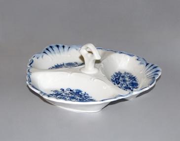 Cibulák Kabaret Aida 20 cm originální cibulákový porcelán Dubí, cibulový vzor 1. jakost