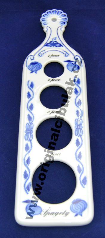 Cibulák měrka na porce špaget 30 cm originální cibulákový porcelán Dubí, cibulový vzor, 1.jakost