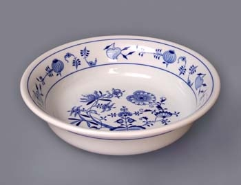 Cibulák Hygienická souprava - umyvadlo 35 cm originální cibulákový porcelán Dubí, cibulový vzor, 1.jakost