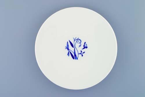 Talíř dezertní Bohemia Cobalt - design prof. arch. Jiří Pelcl, cibulový porcelán Dubí 1. jakost