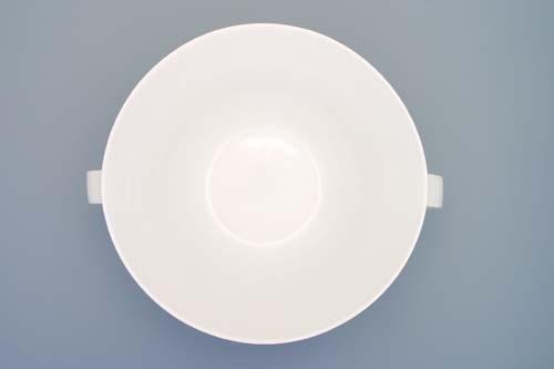 Mísa Bohemia White salátová malá, 0,45 l, design prof. arch. Jiří Pelcl, cibulový porcelán Dubí 1. jakost