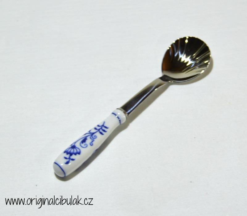 Cibulák lžička na cukr, 15 cm / balení 1 ks karton originální cibulák 1. jakost-cibulákové příbory