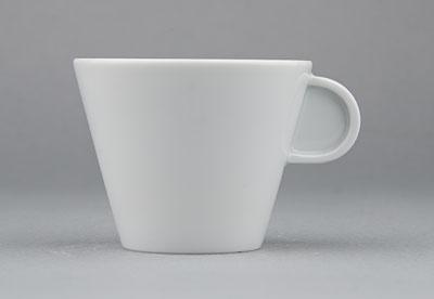 Šálek porcelánový bílý Hotelový na kávu 0,13l Český porcelán Bohemia 1.jakost